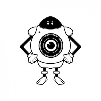 Robot fotocamera