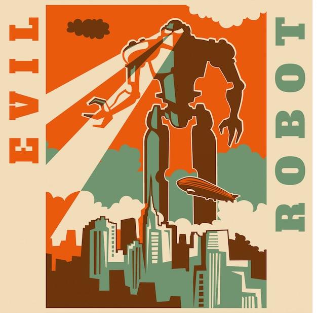Robot malvagio