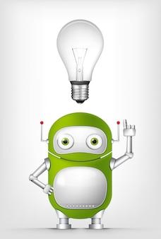 Robot verde