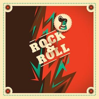 Rock and roll sullo sfondo