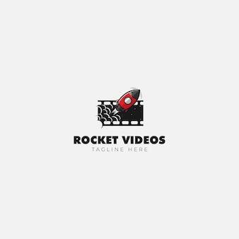 Rocket movie video logo