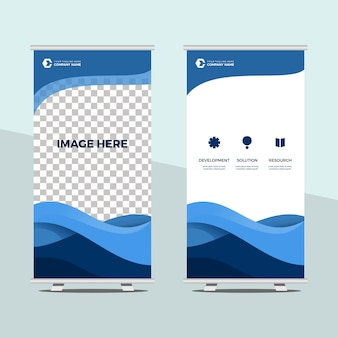 Roll up modello banner