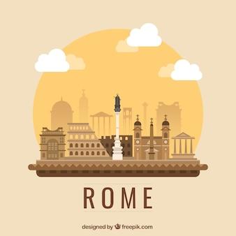 Roma illustrazione