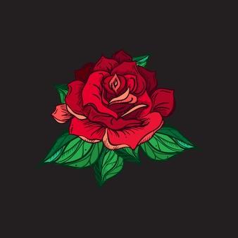 Rose da sposa disegnate a mano