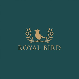 Royal bird