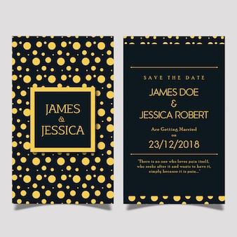 Royal wedding invitation card