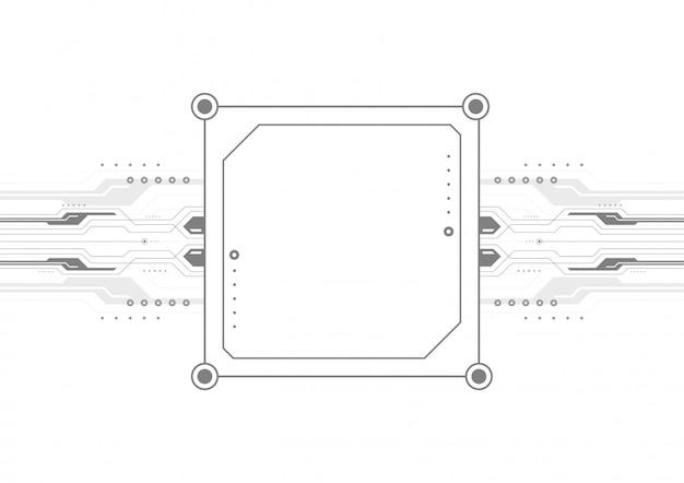 Rtificual computer intelligente modello di progettazione, tecnologia digitale astratto backgroun