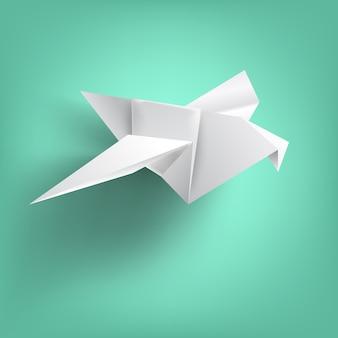 Saggezza sulla piegatura della carta degli uccelli