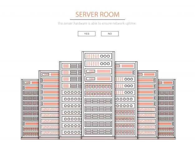 Sala server e data center