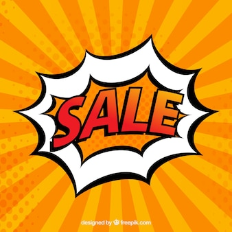 Sale comic