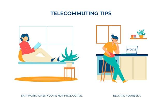 Salta il lavoro quando non sei produttivo