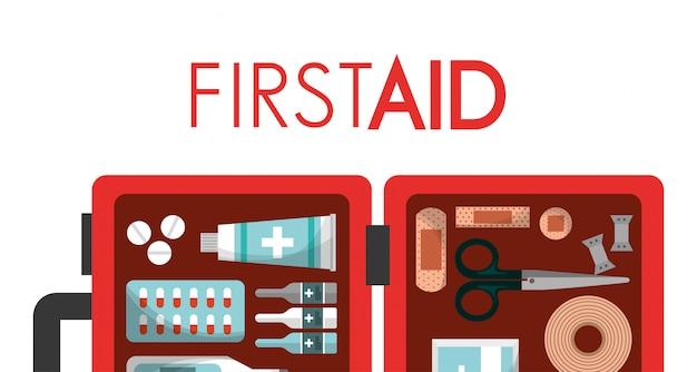 Salute medica kit di primo soccorso