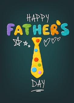 Saluto di giorno di padri