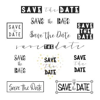 Salva la raccolta della data