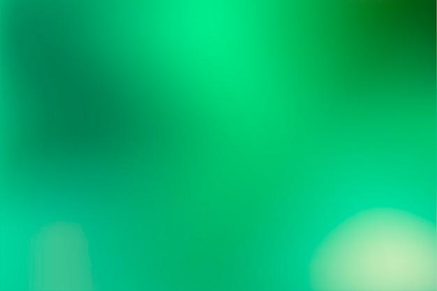 Salvaschermo sfumato nei toni del verde