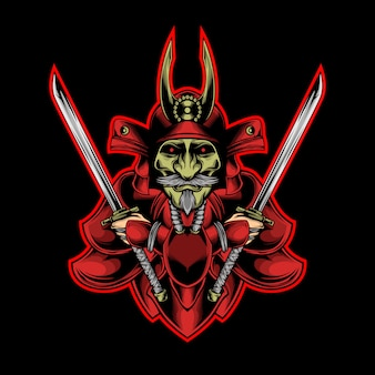 Samurai rosso