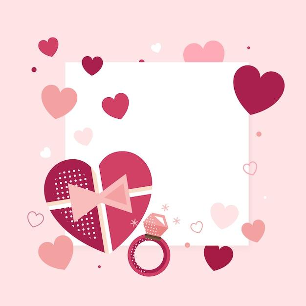 San valentino 14 febbraio vettoriale