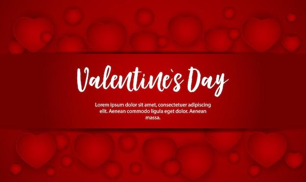 San valentino amore e sentimenti vendita sfondo design.