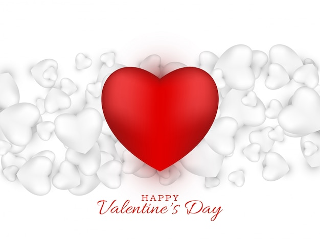 San valentino bellissimo saluto adorabile