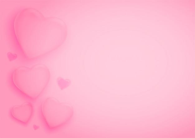 San valentino con cuori.