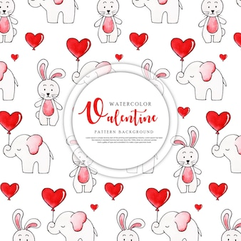 San valentino pattern background