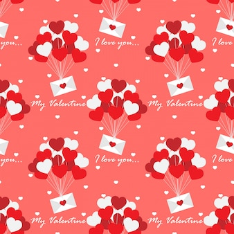 San valentino seamless pattern.