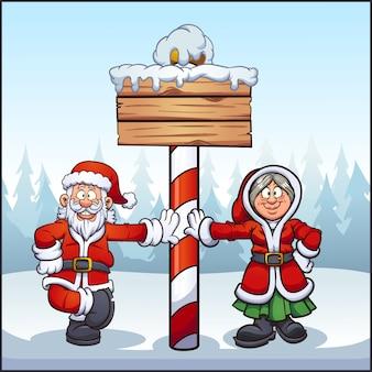 Santa_pole