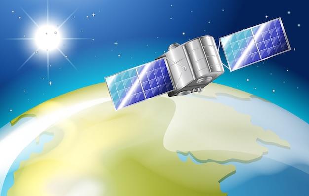 Satellite nello spazio