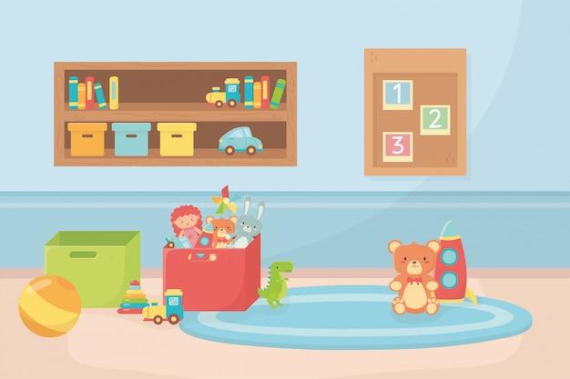 Scaffali per stanza scatole scatole giocattoli per moquette