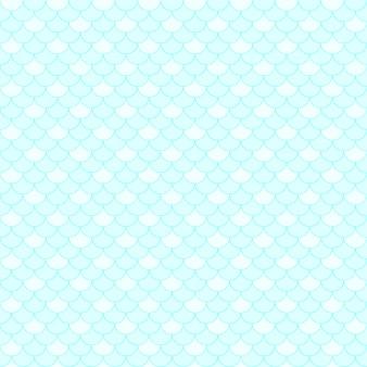 Scale senza cuciture del blu del fondo del modello