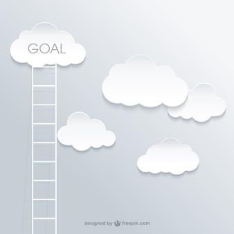 Scaletta al concetto di successo