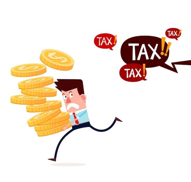 Scappando dal pagamento delle tasse