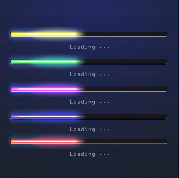 Scarica la barra colorata