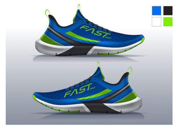 Scarpe da running, design sneakers