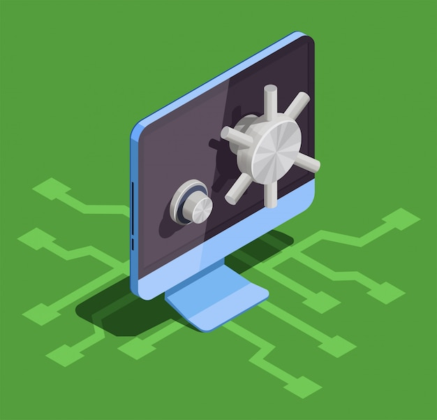 Scatola di blocco del computer