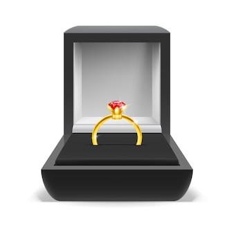 Scatola per anello