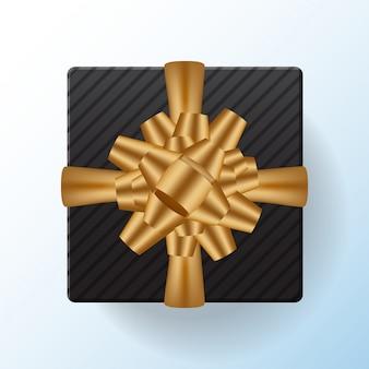 Scatola regalo vendita modello bandiera vector sfondo