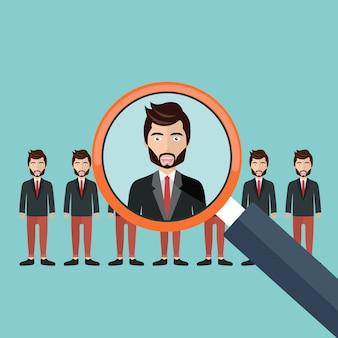 Scegliere un candidato per il lavoro