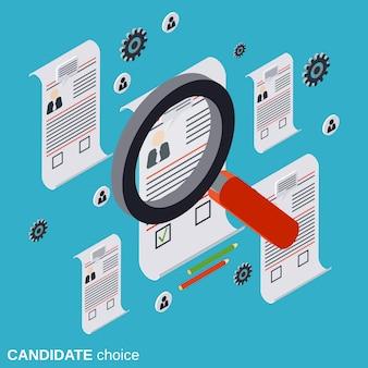 Scelta del candidato