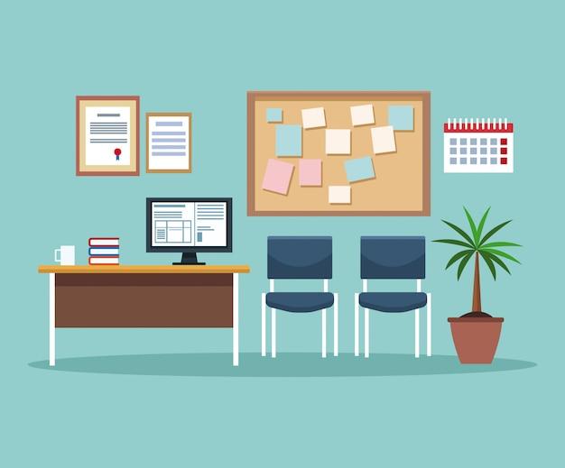 Scenario interno ufficio