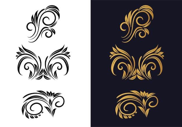 Scenografia decorativa floreale creativa ornamentale