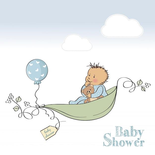 Scheda baby shower boy