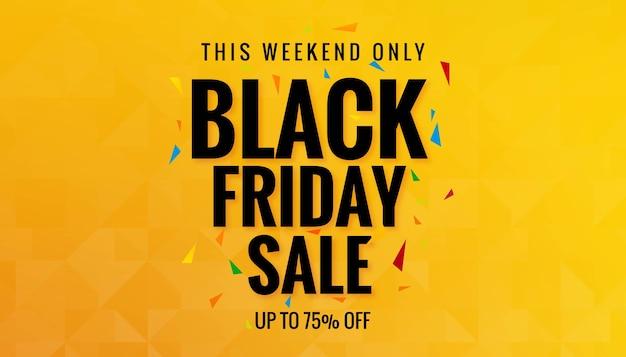 Scheda dello shopping di vendita venerdì nero