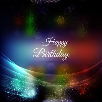 Scheda di buon compleanno celebrazione