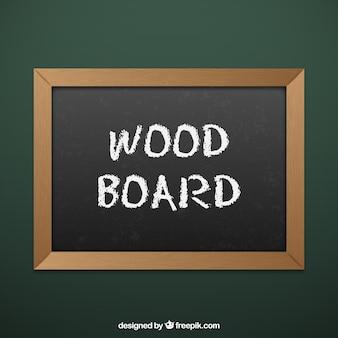 Scheda di legno