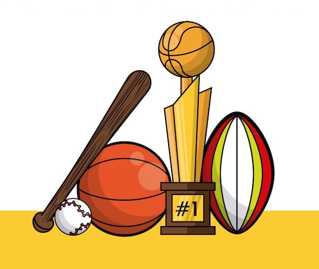 Scheda di raccolta attrezzature sport palline