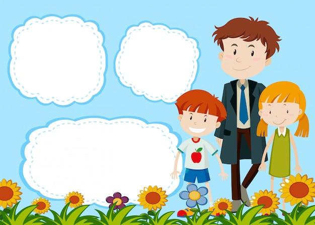 Scheda modello bolla di famiglia