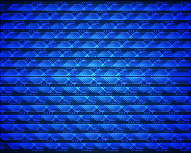 Schermo a led blu per presentazioni cinematografiche.