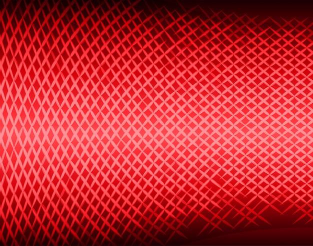 Schermo cinematografico a led rosso per la presentazione di film.