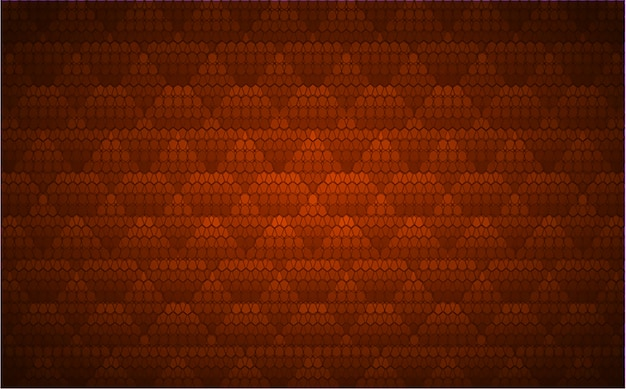 Schermo cinematografico led arancione per presentazioni di film. priorità bassa di tecnologia astratta leggera
